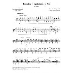 Fantaisie et Variations op. 366